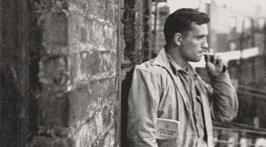 American novelist Jack Kerouac.