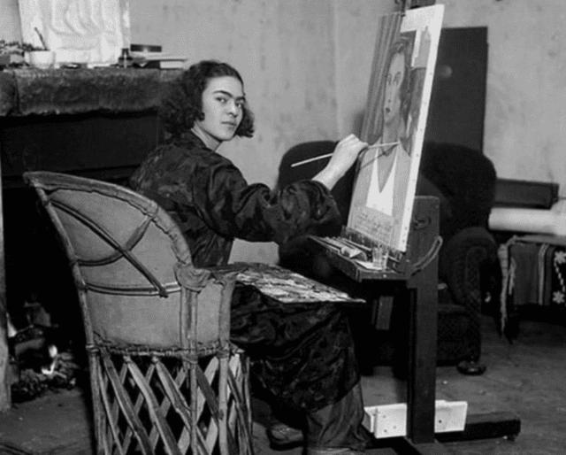 Frida Kahlo paintings.