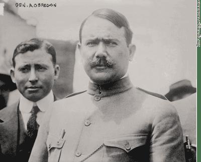 General Alvaro Obregón.