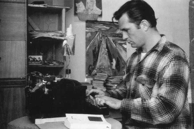 Kerouac writing machine