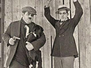 The Lucky Dog Oliver Hardy and Stan Laurel