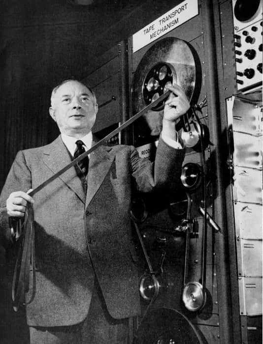David Sarnoff tried to trick Farnsworth into stealing his inventions. Photo: Wikimedia Commons
