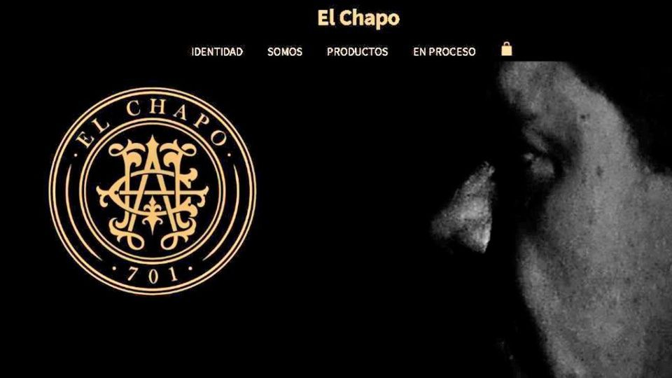 Believe it, it's already a reality; Chapo Guzman's tequila is being launched. Image: website screenshot