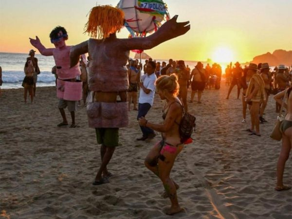 Without shame, Mexico holds the country's fifth nudist festival