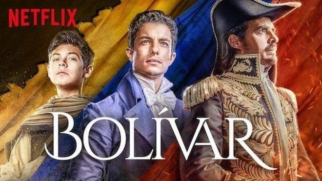 Netflix series tells Simón Bolívar. Image: Netflix