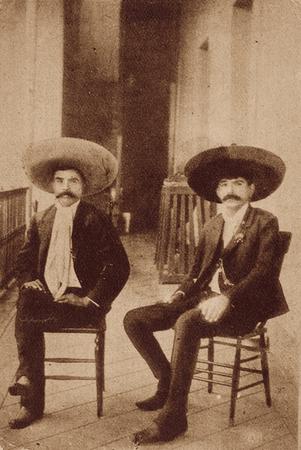 Emiliano and Eufemio Zapata.