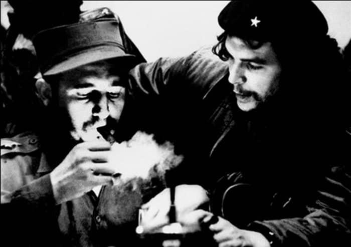 """Ernesto """"Che"""" Guevara and Fidel Castro"""