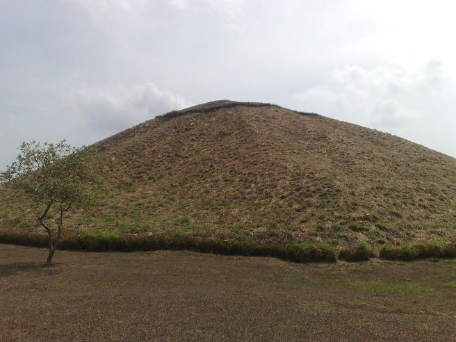 The Olmec pyramid of La Venta.