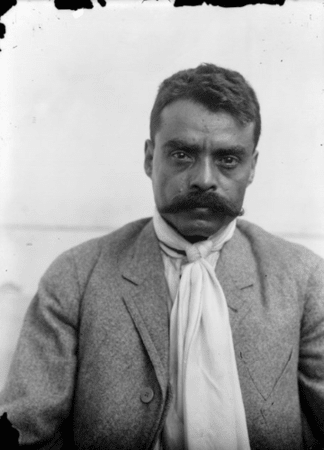 Emiliano Zapata led the Revolution in Mexico from 1910 to 1917.