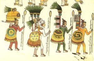 Pre-hispanic warriors