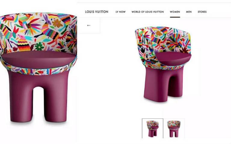 Mexico asks Louis Vuitton to clarify the design of a chair.