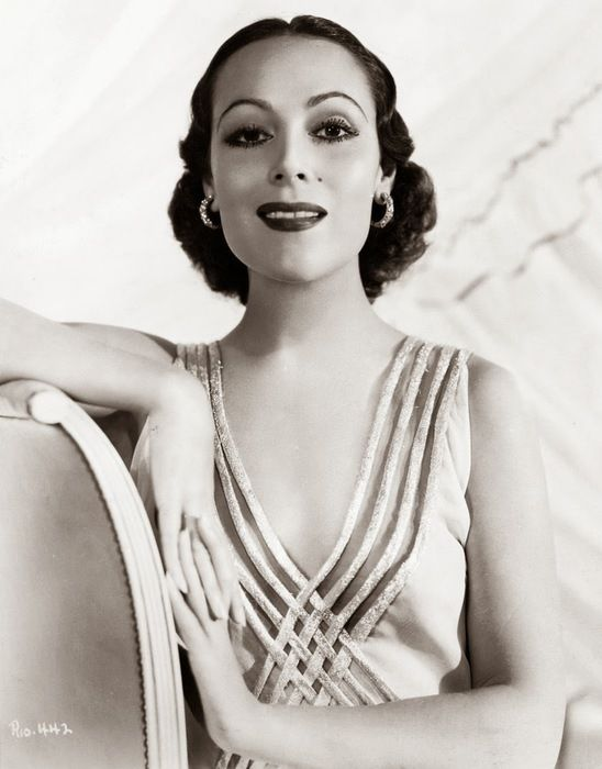 Dolores del Río, the Mexican actress who conquered Hollywood