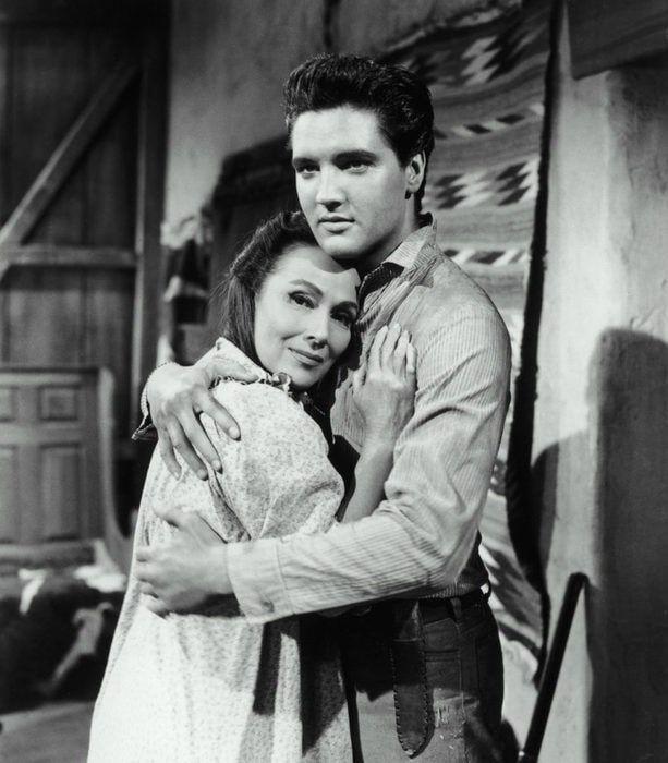 Dolores del Rio and Elvis Presley
