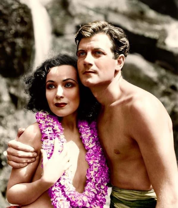 Dolores del Rio and Joel McCrea