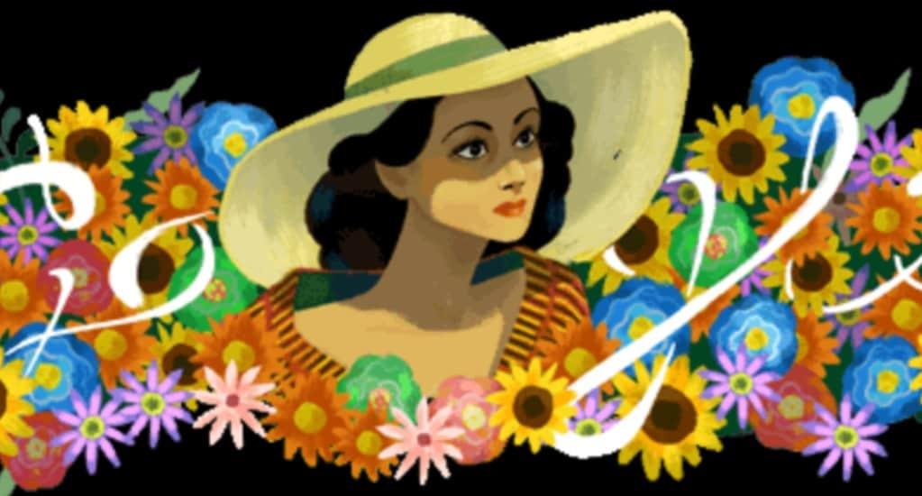 Celebrating Dolores del Río Doodle. Courtesy of Google
