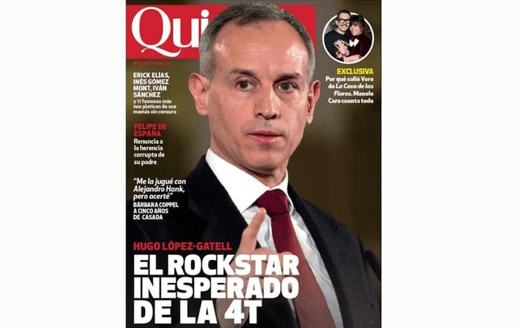Magazine cover of López-Gatell