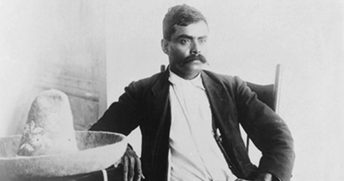 """""""Caudillo del Sur"""" (Southern Caudillo), Emiliano Zapata."""