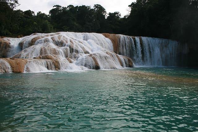 Cascadas de Agua Azul Chiapas Mexico