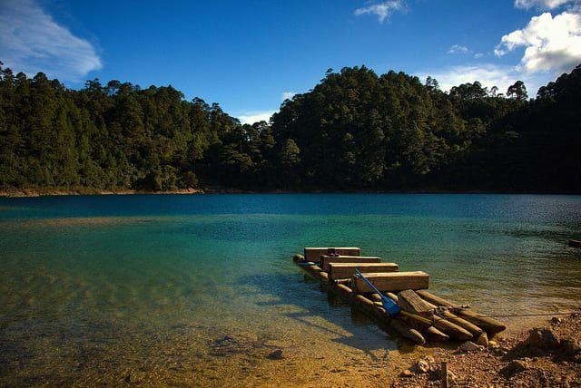 Montebello lakes Chiapas Mexico