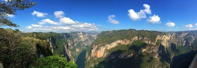 Sumidero canyon hiking