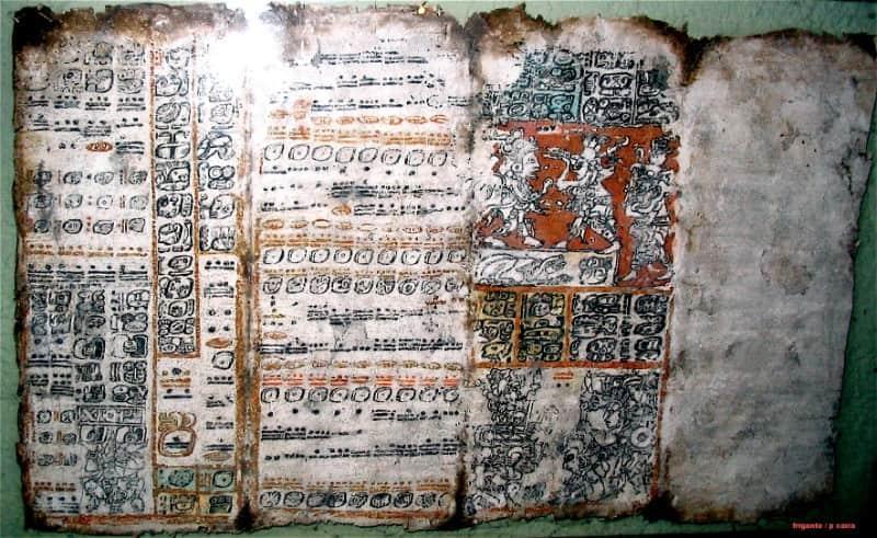 Mayan codices